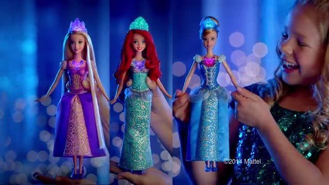 عروسک های پرنسس های دیزنی