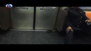 موشی که واگن مترو را به هم ریخت