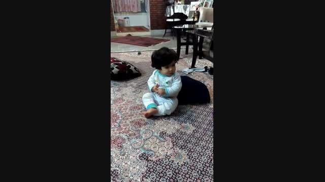 رقص آیناز گلم-نفس مامان