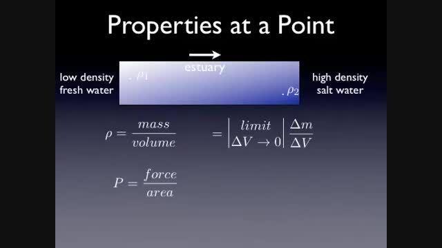 مکانیک سیالات 5 - مفهوم فشار