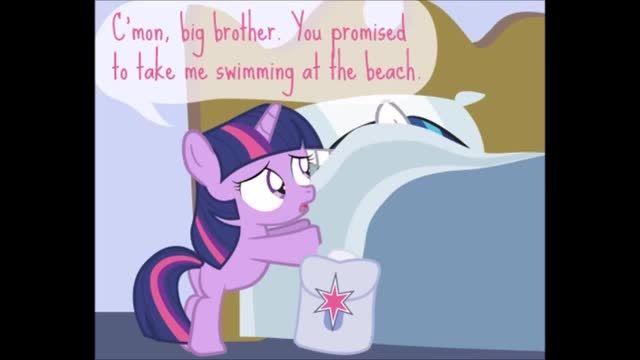 """Beach Bum"" MLP Comic Reading"