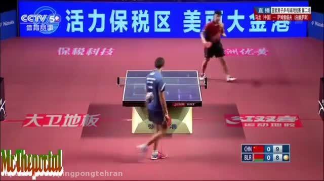 مسابقه پینگ پنگ بسیار تماشایی مالونگ و سامسانوو