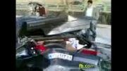 تصادف کادیلاک امریکایی با پژوی ایرانی!!