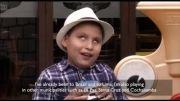 نوازندگی پسر 9 ساله نابینا
