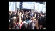 مرثیه سرائی در مراسم تشییع پیکر محمدرضا لطفی در گرگان