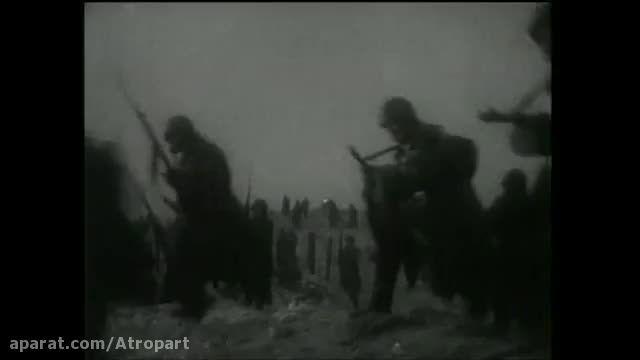 آتش توپخانه شوروی در جنگ جهانی ۲