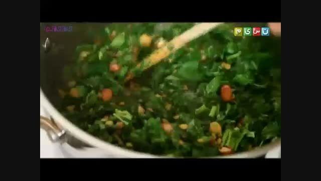 آموزش پخت طبخ آش رشته+فیلم ویدیو کلیپ آشپزی کدبانو