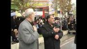 دسته عزاداری مسجد صباغان تاکستان - عاشورای 92