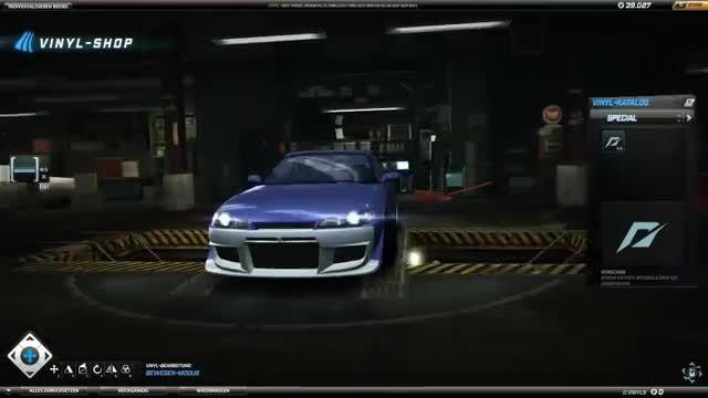 Need for Speed World / Nissan Silvia ( Tokio drift )