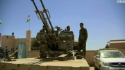 پرچم کردستان بجای پرچم عراق بالا رفت