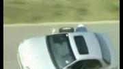 تعویض لاستیک ماشین در هنگام حرکت