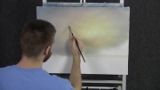 نقاشی منظره ساحلی - فانوس دریایی