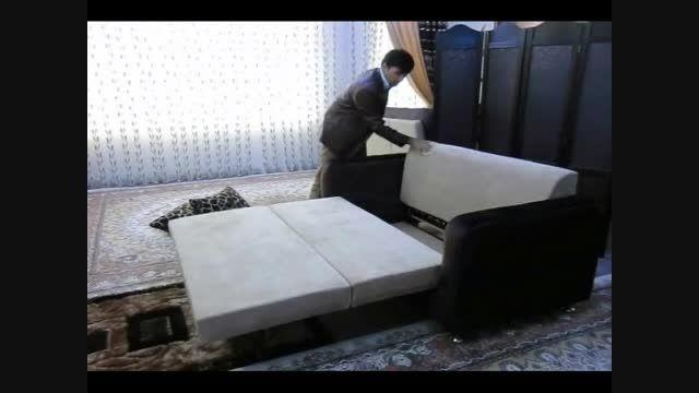 محصولات آرامیس   تخت تاشو مخفی - تخت تاشو مخفی