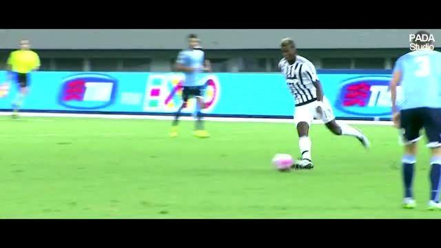 گل ها و حرکات برتر پل پوگبا در پیش فصل 2015/16