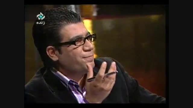 واکنش محمد رضا گلزار به سوال رشیدپور درباره قیافه اش