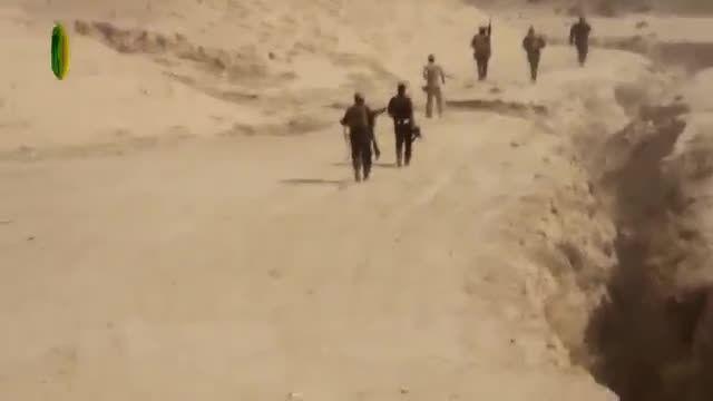 آزادسازی کوه های مکحول توسط نیروهای ویژه سپاه بدر عراق