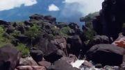 آبشار بسیار زیبا و دیدنی آنجل ونزوئلا - ارتفاع 979 متر!