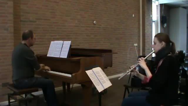 اجرای موسیقی عاشقانه فیلم 2046 با فلوت و پیانو