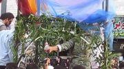 .::مراسم وداع با شهیدگمنام در شهرستان ملارد - تشییع شهید ::.