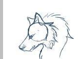 چطور سر یک گرگ را به صورت ساده بکشیم