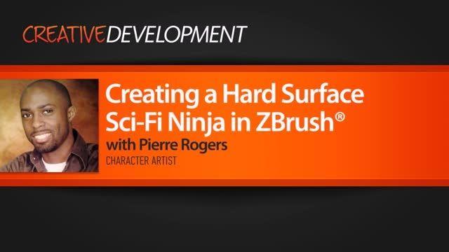 Creating a Hard Surface Sci-Fi Ninja in ZBrush