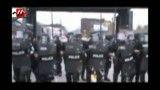 برخورد وحشیانه پلیس غرب با مردم (20+)