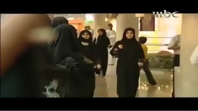 کلیپ دوربین مخفی خنده دار زنان عرب و مانکن لباس