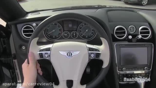 بررسی کامل بنتلی Continental GTC V8 2014