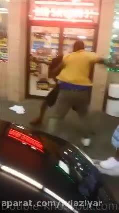 درگیری خیابانی بیرحمانه