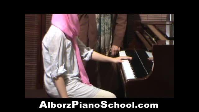 سلسله دروس آموزش پیانو توسط خانم اقدس پورتراب