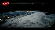 تماشای زمین در 60 ثانیه از فضا