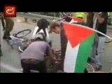 حمله صهیونیست ها به کاروان حامیان فلسطین