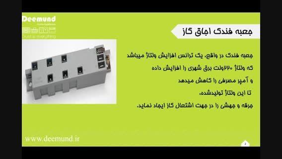 معرفی قطعات کلیدی اجاق گاز و علل خرابی
