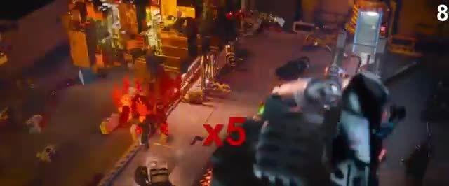 لوسی(وایلاستایل)چقدر آدم کشته در فیلم the lego movie