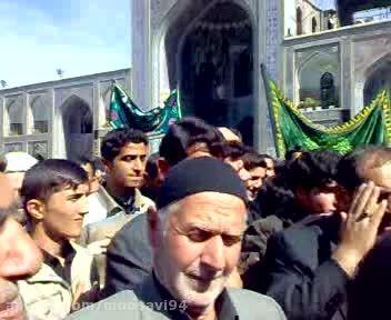 فیلم قدیمی سینه زنی مسجد جامع باغدشت در مشهد