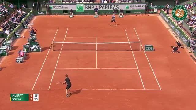 تنیس مردان : اندی ماری - سوسا (رولند گاروس)