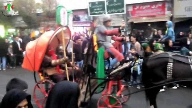 نماهنگ سالارزینب کاروان نمادین اسرای کربلادرشهرستان قدس