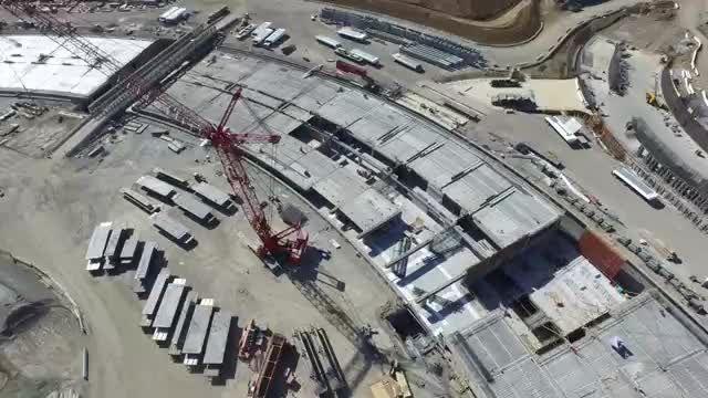 """ویدیوی جدید از """"کامپوس ۲"""" ، دفتر غول آسای جدید اپل"""