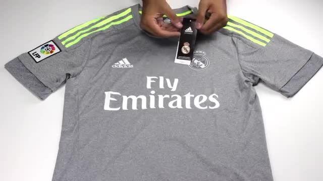 پیراهن دوم رئال مادرید Real Madrid 2015-16 Away Soccer