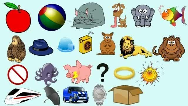 آموزش الفبای انگلیسی شعر کودکانه انگلیسی