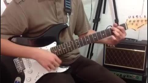 هم نوازی زیبای گیتار الکتریک