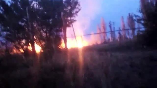 آتش بار سنگین اسمرچ در شهرهای اوکراین