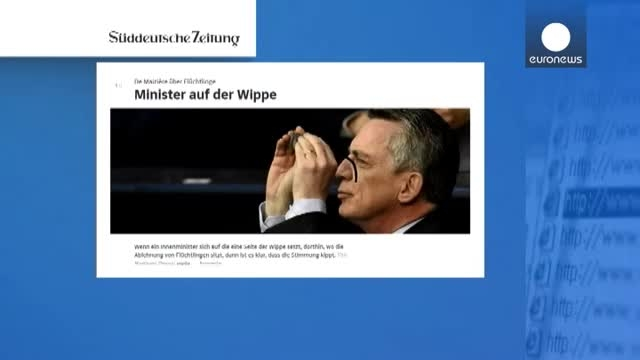 انتقاد شدید وزیر کشور آلمان از رفتار برخی پناهجویان