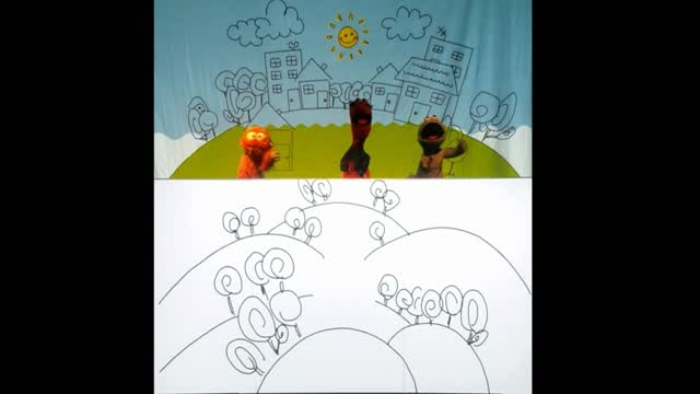 نمایش عروسکی - انیمیشن ابرهای بادکنکی _ قسمت اول