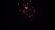 نور افشانی شب 22بهمن شهر كهن آباد