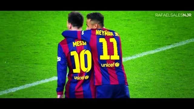 نیمار جونیوز VS لئو مسی ► حرکات دیدنی و برتر ● 2014/15