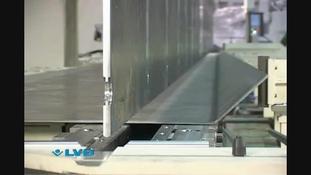 پرس برک تاندم LVD - ساخت دکل - 16 متر 1280 تن