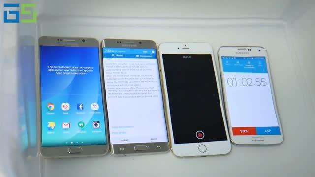 مقاومت در برابر آب Note5، S6 edge Plus و iPhone 6 Plus