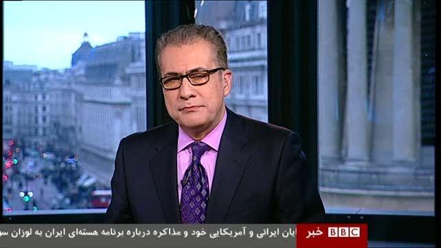 ناهماهنگی خبر و تصویر از شبکه مثلا حرفه ای بی بی سی