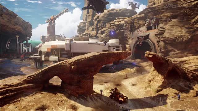 تریلر بخش مولتی پلیر Halo5 در کنفرانس Microsoft E32015